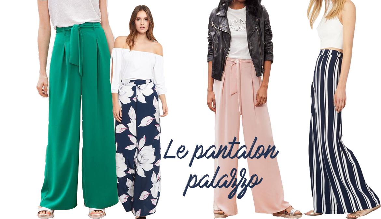 1ec1c84349 Le pantalon palazzo   la tendance mode à adopter cet été !