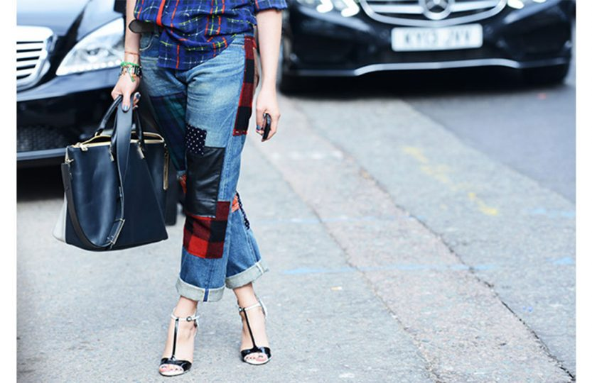 Comment custumiser son jean avec des patchworks ?