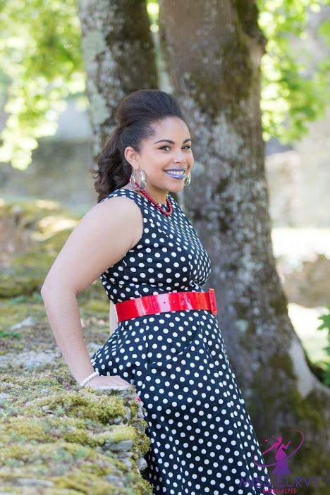 Concours Miss Curvy Rhône-Alpes 2018 – Interview Alicia CREGUT-MOURIER